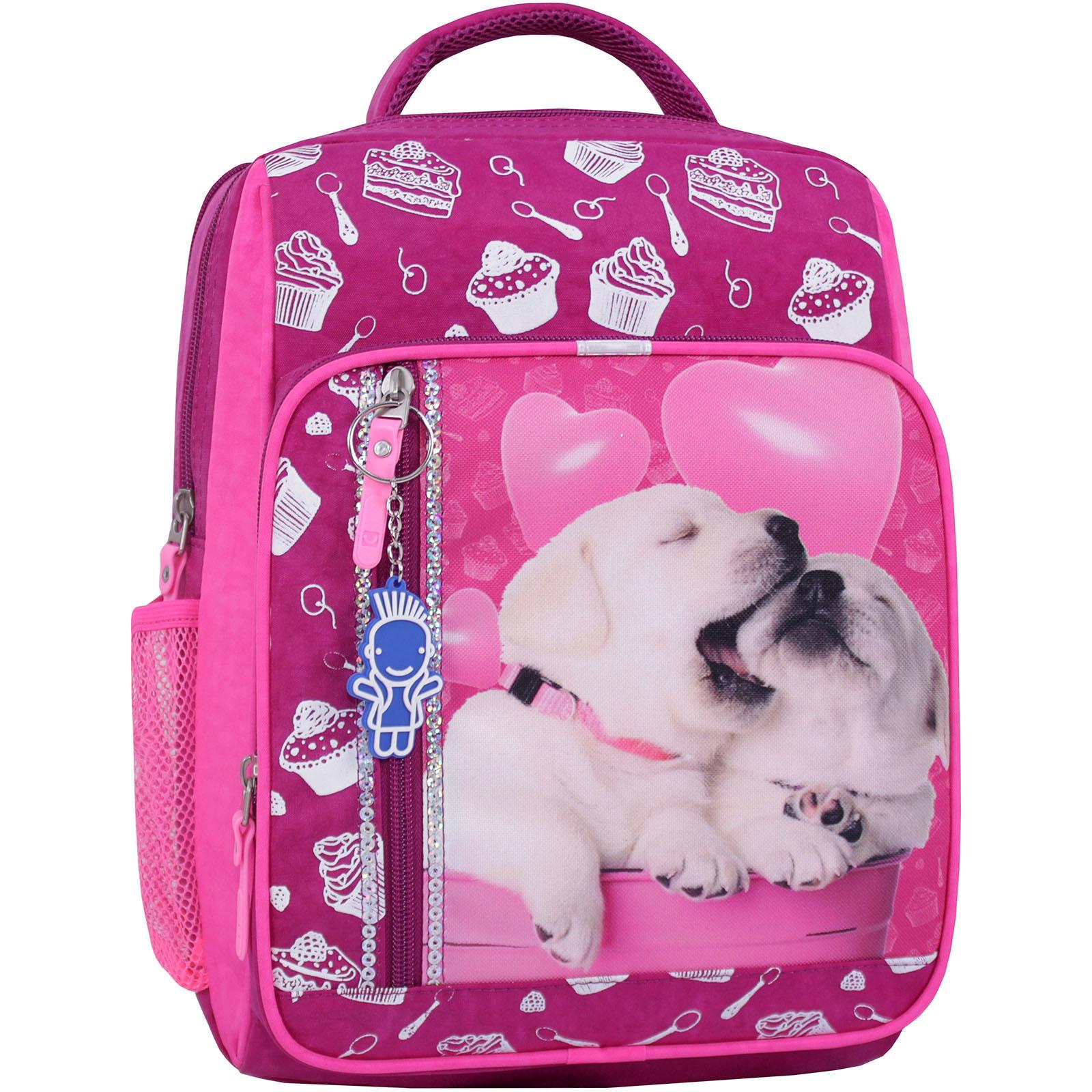Детские рюкзаки Рюкзак школьный Bagland Школьник 8 л. 143 малиновый 593 (0012870) IMG_0729_суб.593_.JPG