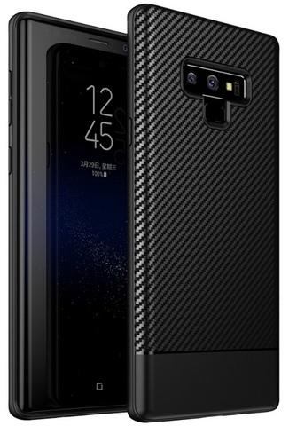 Ультра тонкий чехол на Samsung Galaxy Note 9 под карбон, серии Fit от Caseport