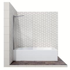 Шторка для ванны Ambassador Bath Screens 16041102 70 см