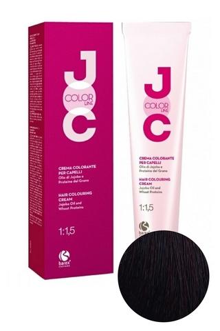 Крем-краска для волос 4.56 каштан махагоново-красный JOC COLOR, Barex