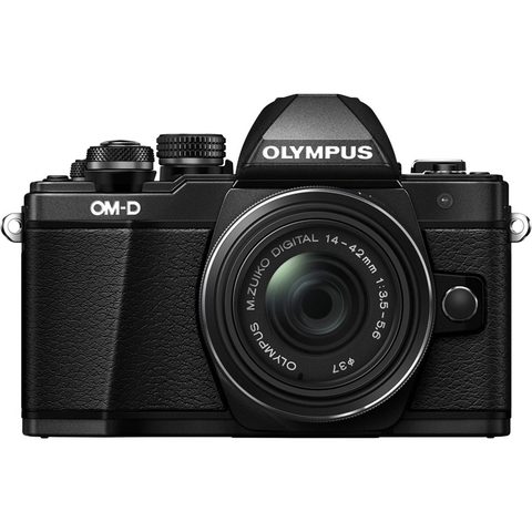 Olympus OM-D E-M10 Mark III Kit 1442 R II Black