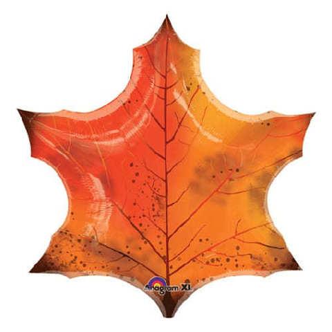 Шар кленовый лист