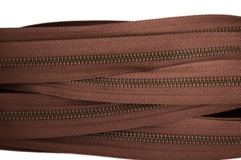 Молния рулонная YKK тип 5 - коричневый цв.