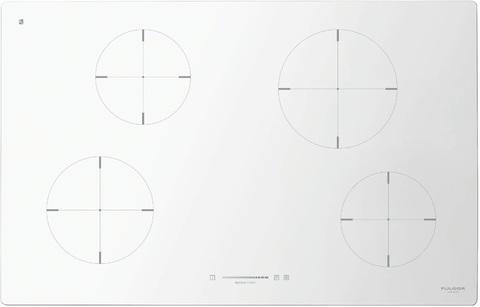 Индукционная варочная панель Fulgor-Milano CH 804 ID TS WH
