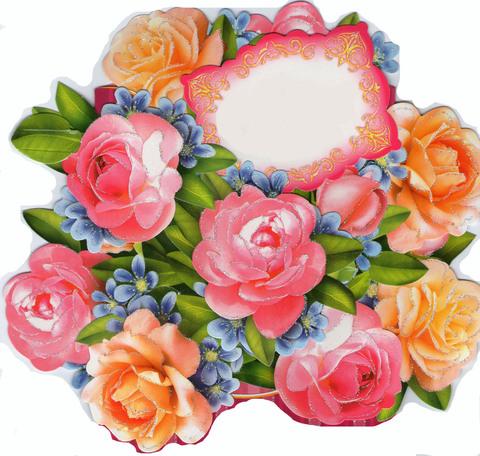Печать на сахарной бумаге, Цветы 9