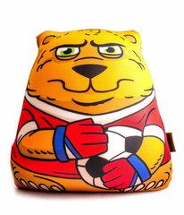 Подушка-игрушка антистресс «Медведь-вратарь» 1