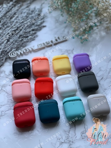 Чехол для AirPods2 silicone slim case