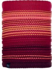 Шарф-труба вязаный с флисовой подкладкой Buff Neckwarmer Knitted Polar Neper Bright Pink