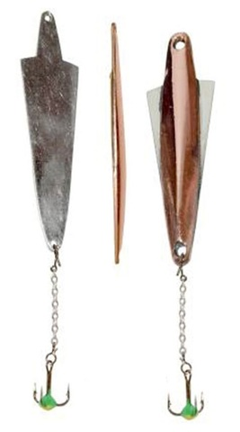 Блесна LUCKY JOHN Wing, цепочка, тройник с каплей, 5.5 г, цвет CS