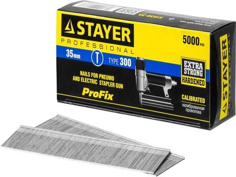 STAYER 35 мм гвозди для нейлера тип 300, 5000 шт