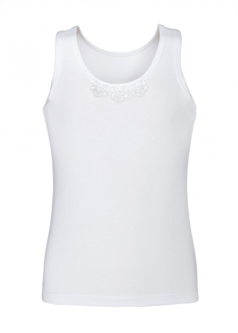 Майка LR-U-C-KG-F, цвет белый