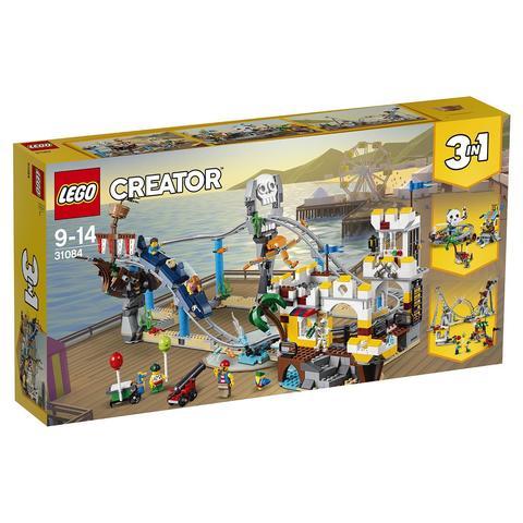 LEGO Creator: Аттракцион «Пиратские горки» 31084 — Pirate Roller Coaster — Лего Креатор Создатель