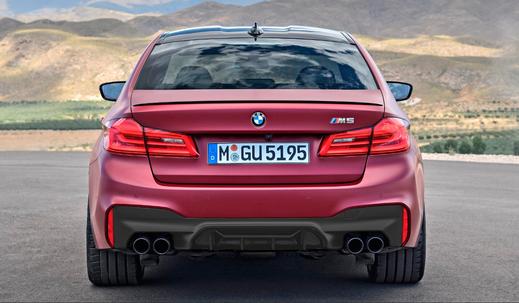 Карбоновый диффузор заднего бампера   для BMW 5 G30