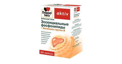 Витамины ДОППЕЛЬГЕРЦ Актив фосфолипиды + Витамины группы В