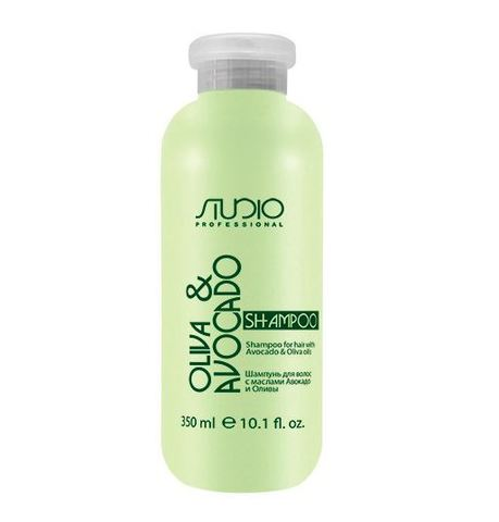 Kapous, Шампунь  для волос с маслами авокадо и оливы, 350 мл