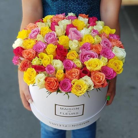 Коробка Maison Des Fleurs Микс 7