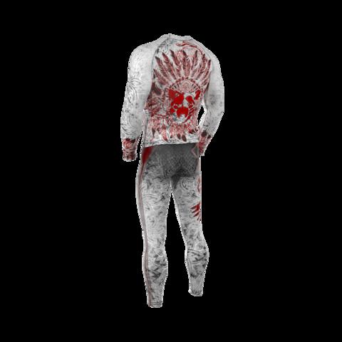 купить рашгард мужской apachi белый с длинным рукавом