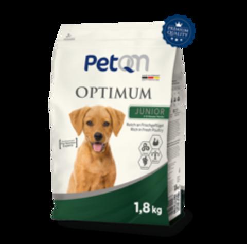 PetQM Optimum Junior: Со свежей курицей 1,8 кг.