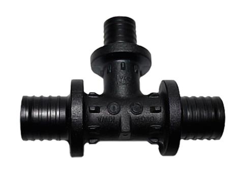Тройник Rehau PX 32-25-32 с уменьшенным боковым проходом (арт. 11600661001)