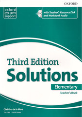Solutions (3rd edition) Elementary: Teacher's Book and CD-ROM