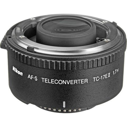 Телеконвертер Nikon AF-S Teleconverter TC-17E II 1.7X Black для Nikon