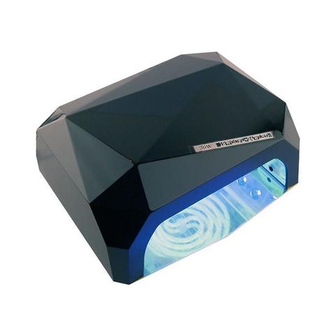 Лампа гибридная CCFL+Led 36 Вт черного цвета с магнитным дном