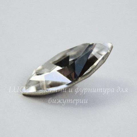 4228 Ювелирные стразы Сваровски Navette Crystal (15х7 мм)