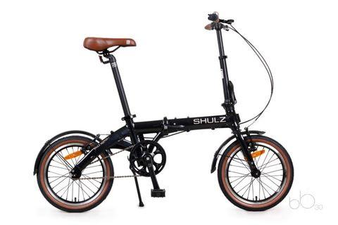 складной велосипед SHULZ Hopper черный
