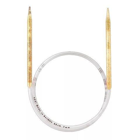 Спицы Addi  пластиковые круговые с гибкой леской 80 см, 10 мм