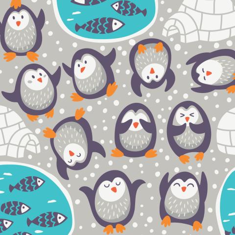 Пингвинья тусовка