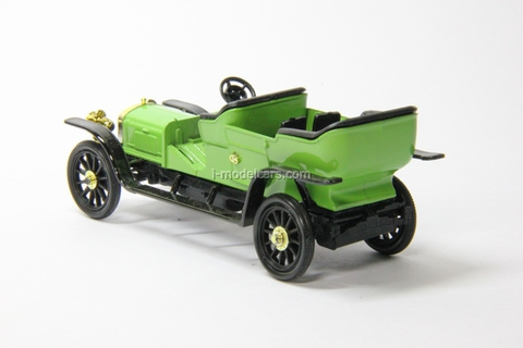 Russo-Balt C24-30 Double-Phaeton 1909 bright-green Agat Mossar Tantal 1:43