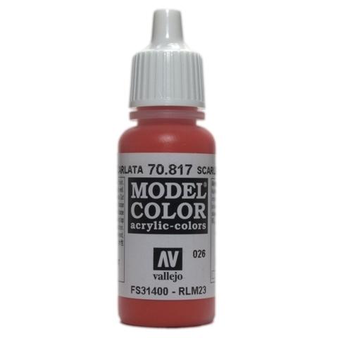 Model Color Scarlet 17 ml.