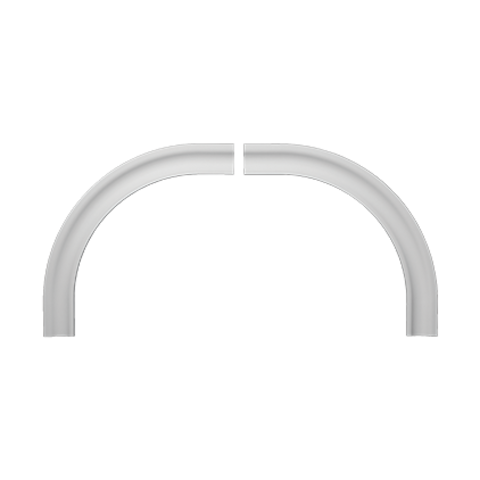 Два арочных обрамления 4.87.031