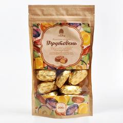 Конфеты Фрутодень с кедровыми орешками в шоколадной глазури 200 гр