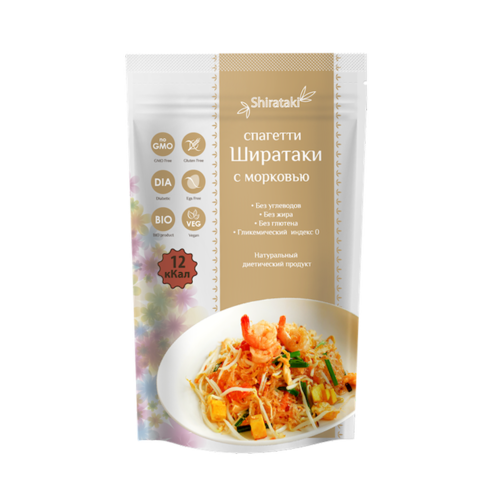 Спагетти Ширатаки с морковью 340 г