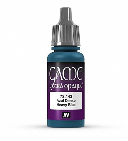 Game Color Heavy Blue 17 ml.