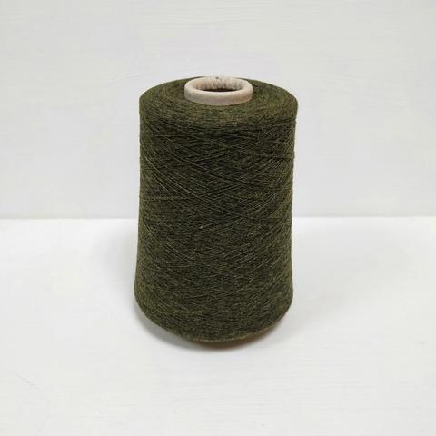 Knoll, Noble ht, 95 шерсть ягненка, 5 кашемир, Темный мох, 1/20, 2000 м в 100 г