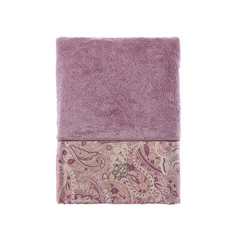 Набор полотенец  Etto (фиолетовый) 3 предмета TIVOLYO HOME Турция