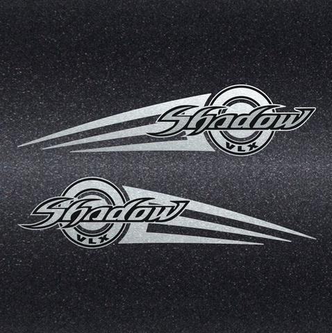 Набор виниловых наклеек на мотоцикл HONDA SHADOW VLX