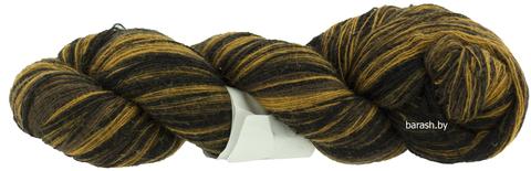 Пряжа Кауни 8/1  Brown-black (Черно-коричневый)