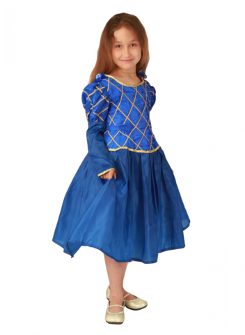 Костюм Принцесса синий