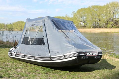 Ходовой тент для лодок серии Merlin (Кречет)