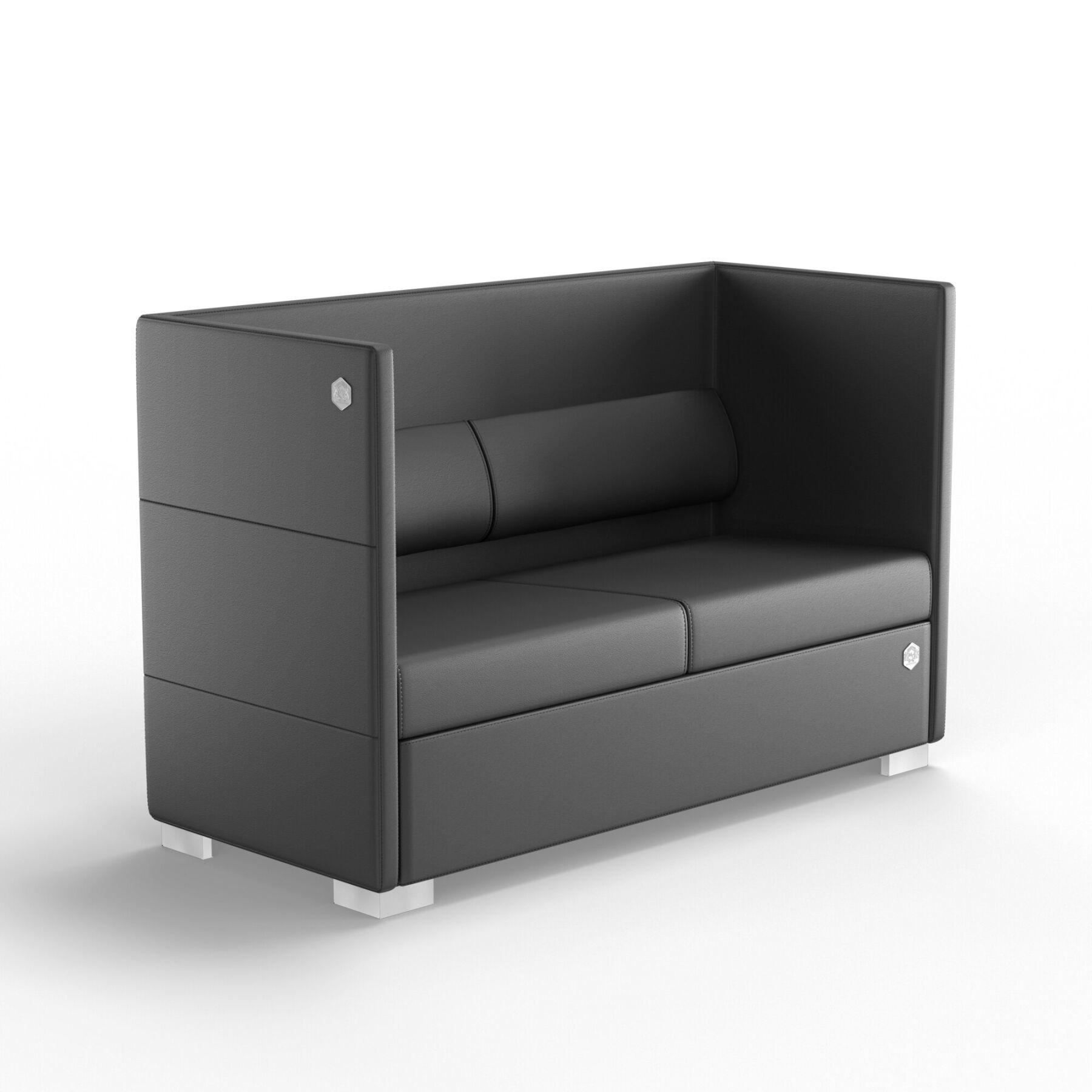 Двухместный диван KULIK SYSTEM CONFERENCE Кожа 2