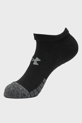 Черные спортивные носки (3 пары) UA Heatgear NS Under Armour