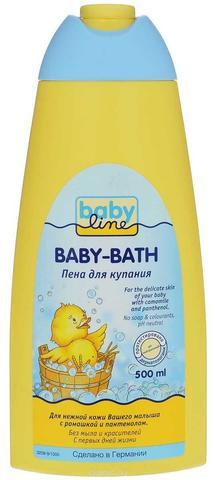 Детская пена для купания Babyline Nature (500 мл)