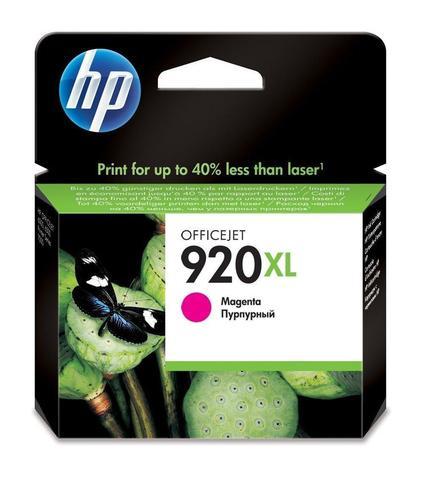 Картридж струйный HP CD973AE (№920XL), пурпурный