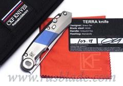 CKF/Snecx TERRA knife collab (Ti)