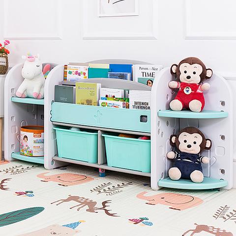 Полка-стеллаж для книг  и игрушек 158х34х72