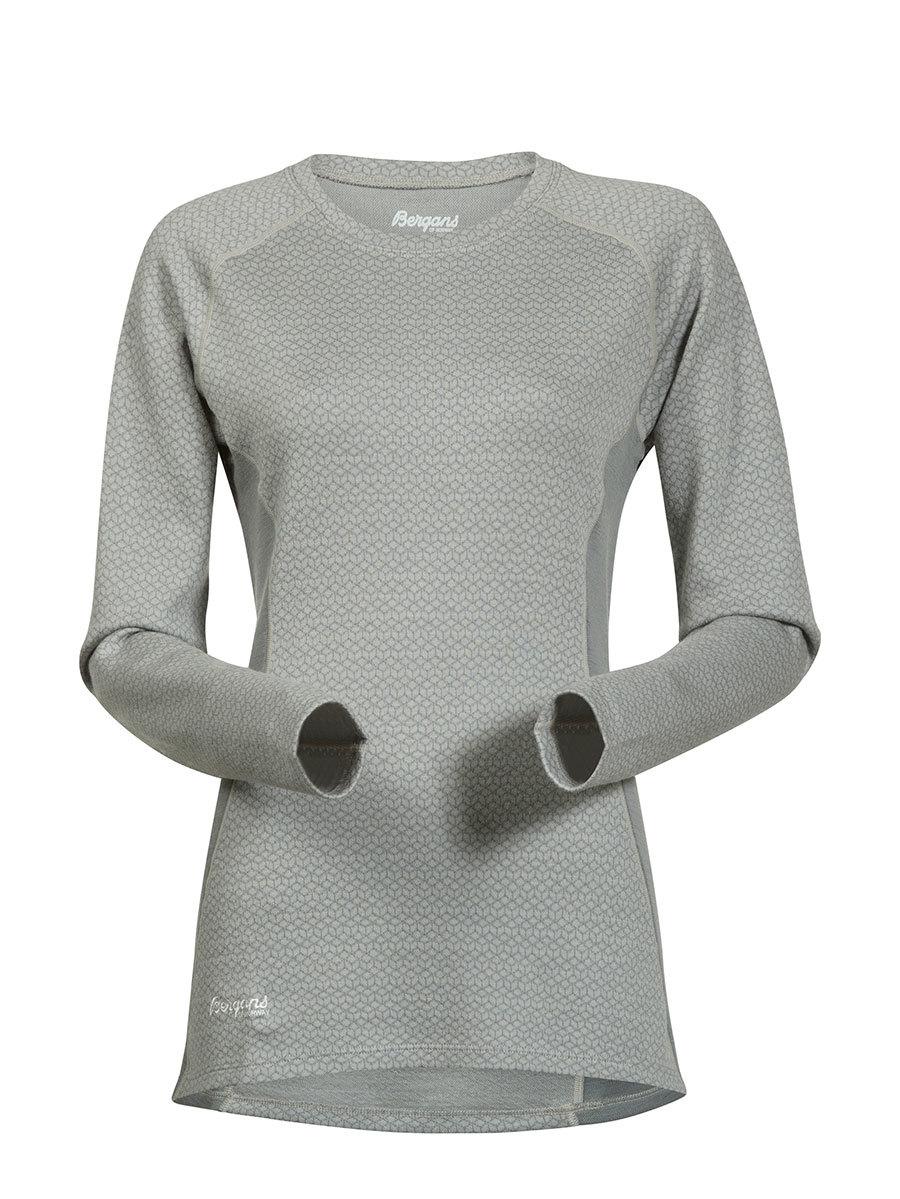 Bergans термобелье футболка 8961 Snoull Lady Shirt Aluminium