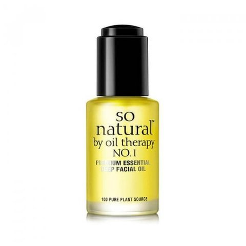 100% МАСЛО SO NATURAL CONCENTRATE PREMIUM ESSENTIAL DEEP FACIAL OIL 30 мл